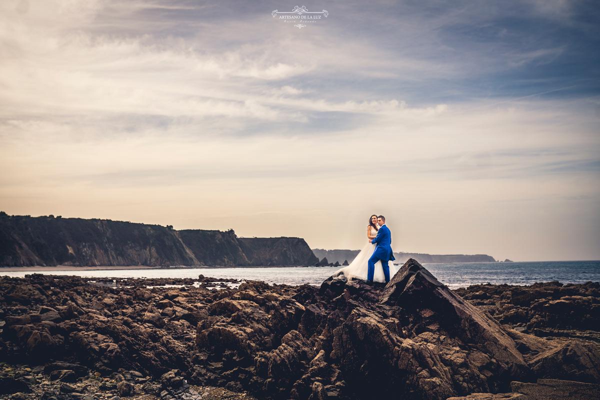 Fotos de postboda en la playa