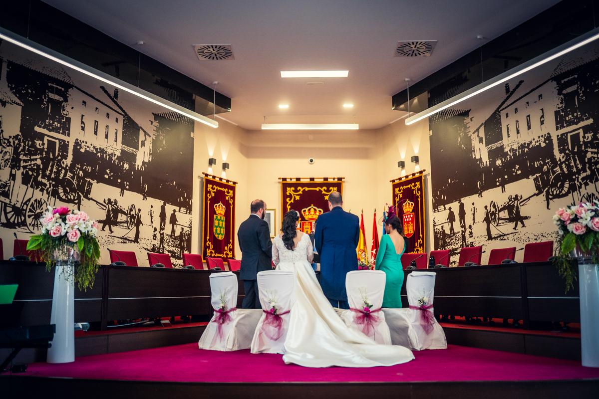 Fotos de boda en la Casona de Torrelodones