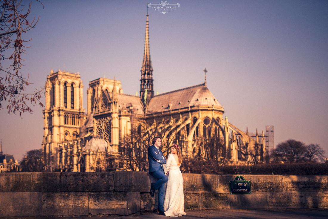 Postboda en París