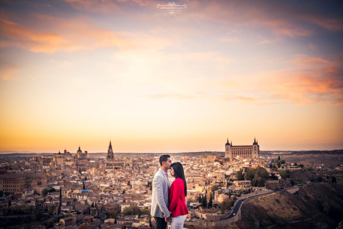 Preboda en la Piedra del Rey Moro - Toledo