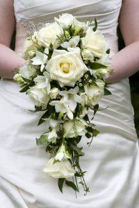 Ramo de novia gardenias