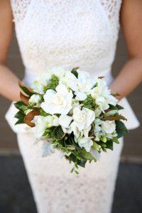Ramo de novia gardenias 0