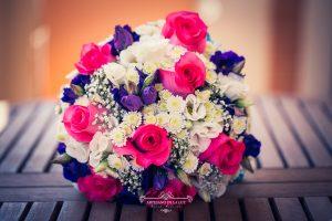 Ramo de novia multicolor
