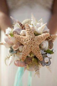 Ramo de novia marino