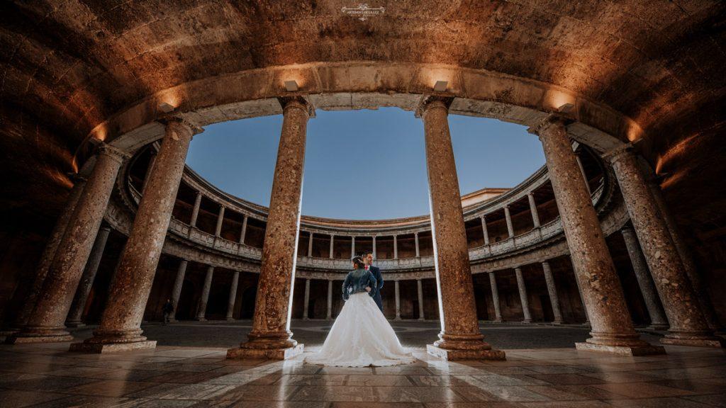 Postboda en la Alhambra de Granada