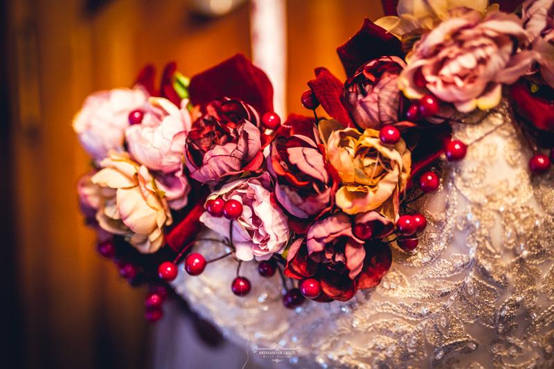 detalles de boda en otoño