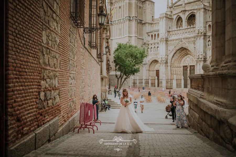 Boda en el Ayuntamiento de Toledo